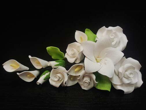 Магазин цветов, купить букет из мастики спб